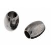 Metal Oval 5X6.5x2.6mm Gunmetal